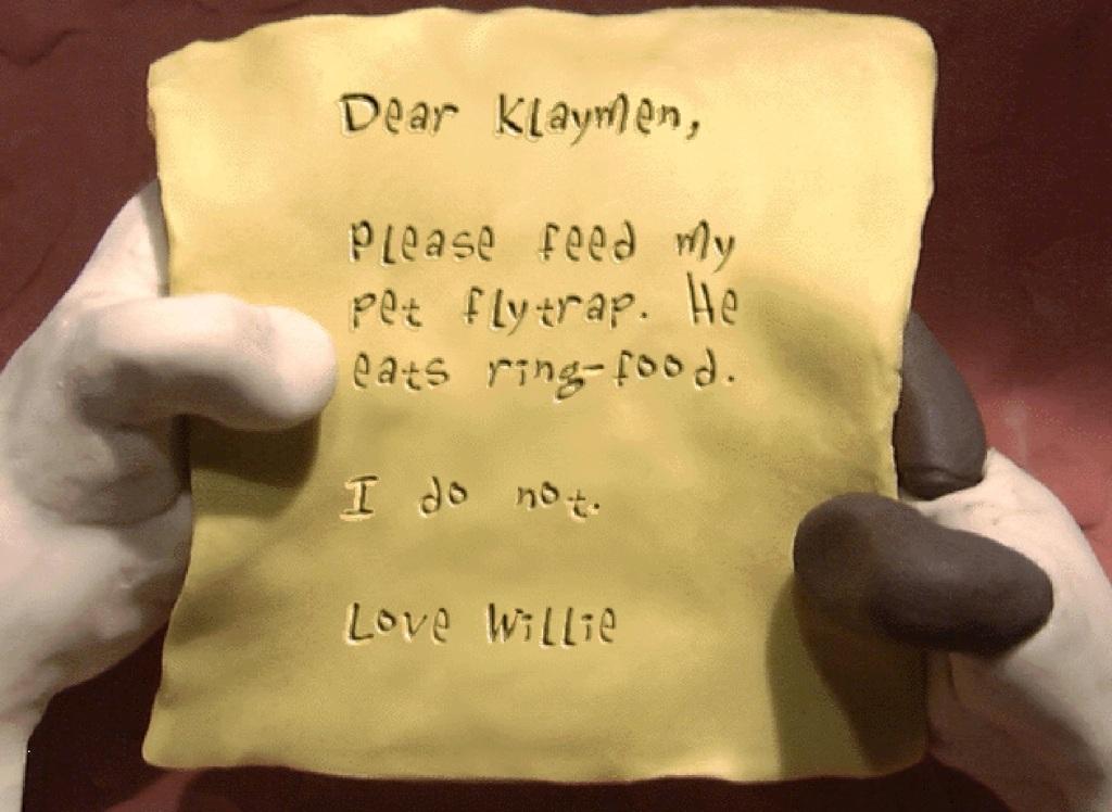 feed the flytrap klaymen
