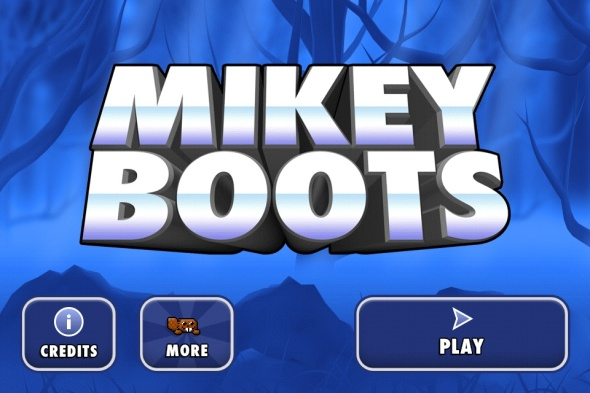 mikey boots title screen