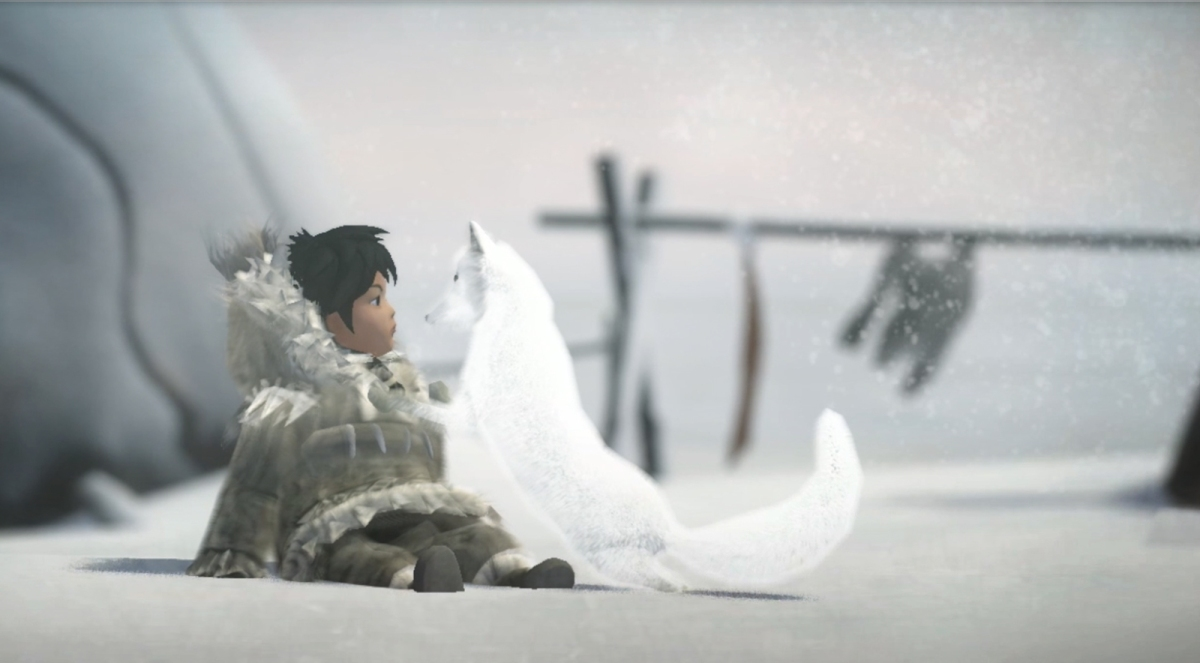 Game Art - Never Alone (Adventures of Nuna and Fox)