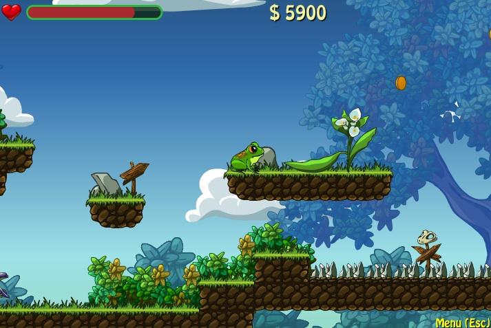 frog dares gameplay 1