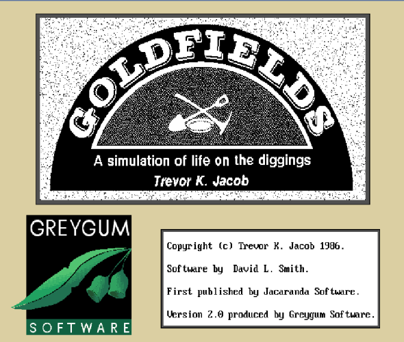 goldfields title screen
