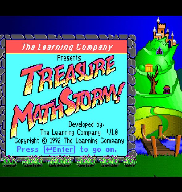 treasure mathstorm