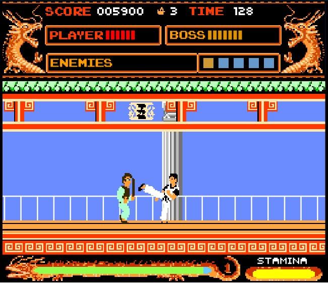 kung fu master lvl 1
