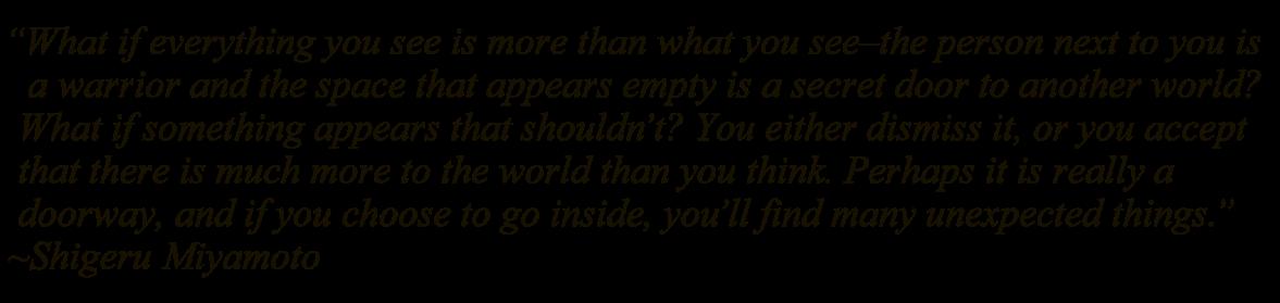 miyamoto san quote
