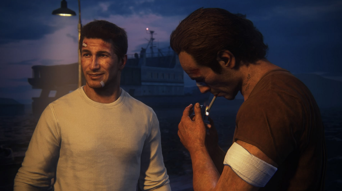 nathan drake and sam